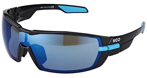 Kask KOO Brillenglas incl. 2 glazen Bluesky en Clear blauw/zwart